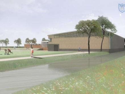 bouw hdm Sportcentrum fase I dit jaar