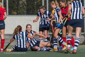 Fay van der Elst zette hdm op 1-0