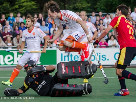 23-05-2014  Oranje H - Spanje  0-1