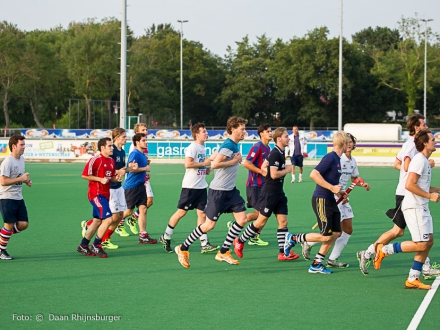 31-07-2014 Selectie hdm H1 weer in training