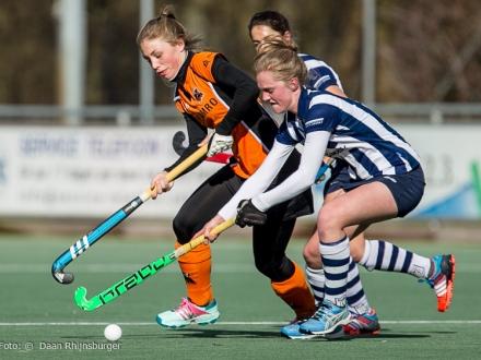 22-02-2015  hdm D1 -  Oranje Zwart D1 3-6