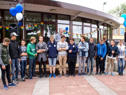 14-06-2015 Huldiging hdm kampioenen