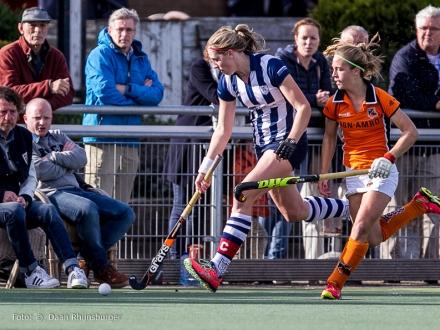 25-10-2015  hdm D1 - Oranje Zwart D1  2-2
