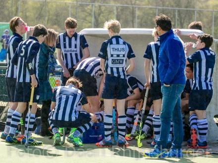 16-04-2016  hdm JB2 - Noordwijk JB1  2-1