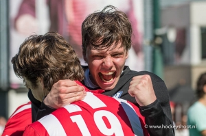 25-05-2017 hdm H1 wint 1e wedstrijd play-offs na shoot-outs
