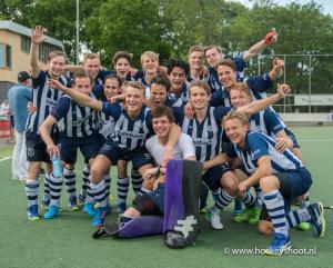 28-05-2017 hdm H1 wint beslissende wedstrijd play-offs