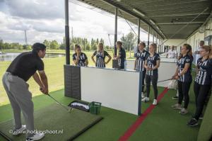 Golfclinic D1 met sponsoren en Businessclub