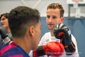 bokstraining H1 met Dario