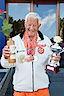 'Topa' Jan Willem, captain NED 75, met 3de prijs bij WK'14